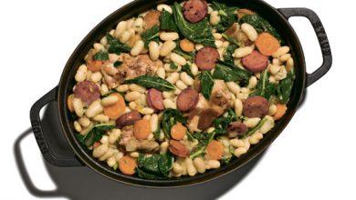Photo of Рагу с курицей, фасолью и колбасой: твой правильный обед